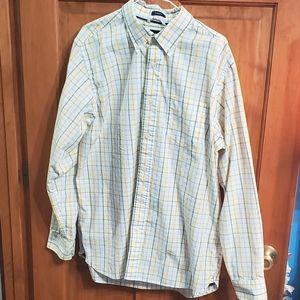 Gap Long Sleeve Dress Shirt Size Large